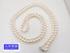 K14WG ホワイトゴールド パール ロングネックレス 7.0-7.3mm珠 108cm 79.6g 中古B+ 【送料無料】C-7816
