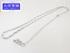 K18WG ホワイトゴールド ワイシェイプ ローラーシリンダー ネックレス  約80cm 15.8g 中古A+ 【送料無料】C-7984