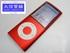 APPLE iPod nano 第 4 世代 8GB A1285 レッド 中古B 【送料無料】D-1815